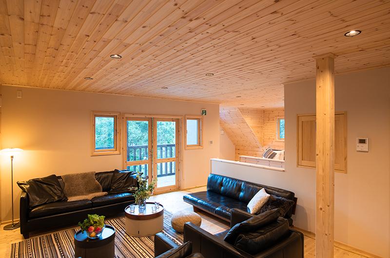 Villa Antelope Hakuba II Living Area | Echoland