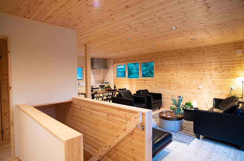 Villa Antelope Hakuba II Up Stairs Living Area | Echoland
