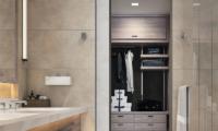 Park Hyatt Niseko Hanazono Bathroom with Storage Area | Hanazono