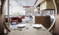 Park Hyatt Niseko Hanazono Dining Table with Crockery | Hanazono